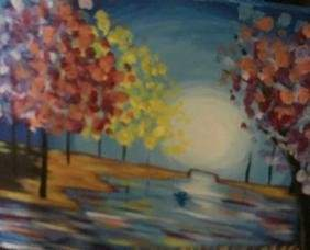 Oil on Canvas Painting, (No Reserve)