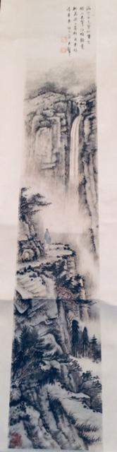 Chinese Paper Painting Without Fame