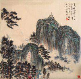Chinese Scrolled Painting