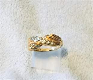 Ring,14 K/Diamond,Estate Jewelry