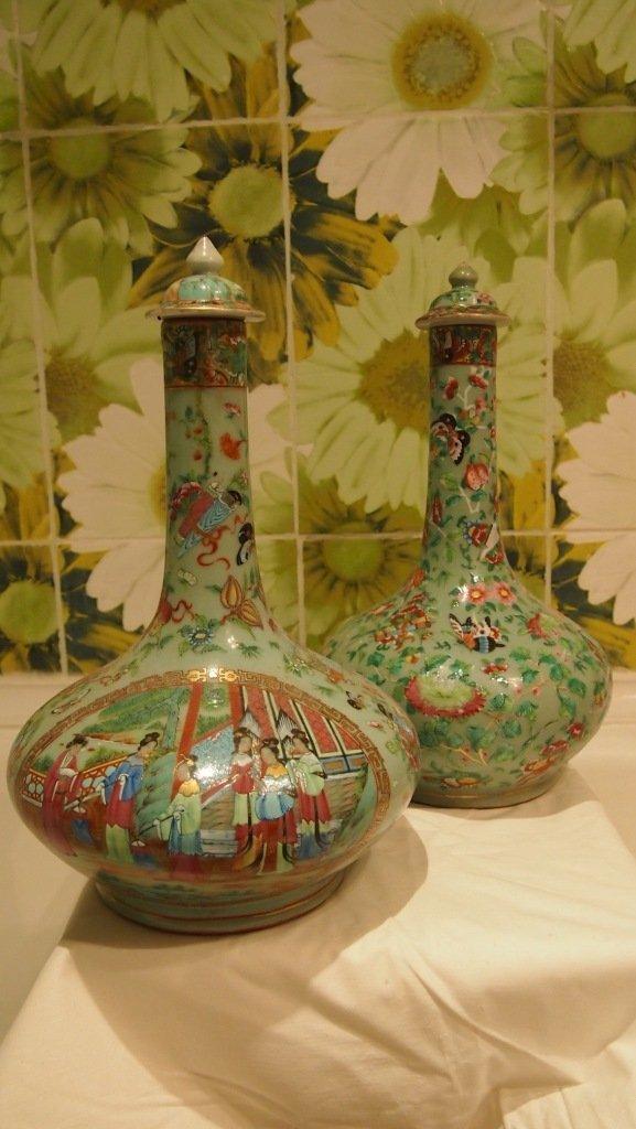 2 Vases Canton