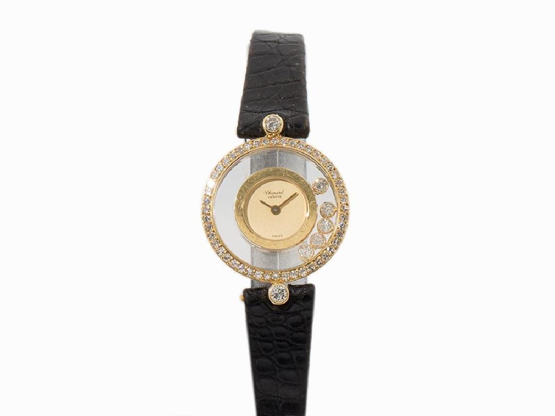 Chopard Happy Diamonds, 18K Gold, Switzerland, 2000s