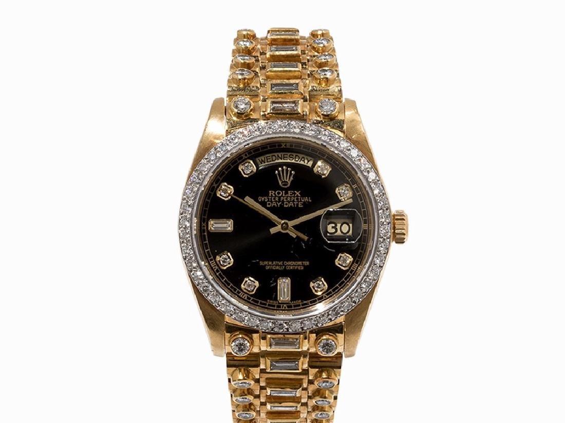 Rolex Day-Date 'Octopussy', 18K Gold, Switzerland, c.