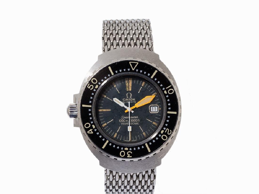 Omega Seamaster 1000 Wristwatch, Switzerland, 1970s