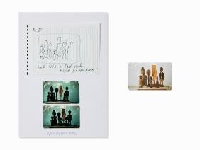 Martin Kippenberger, Collage & Telephone Card