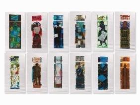 Ruth Tesmar, Symposion, 12 Woodcuts , 1999/2000