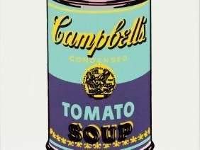 After Andy Warhol, 'Wandbild Campbell's Soup ',
