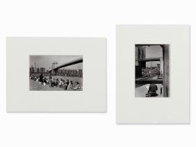 Edouard Boubat, 2 Views of New York, Gelatin Silver,