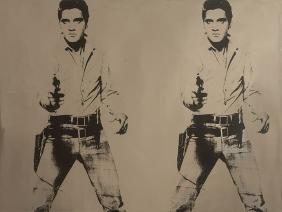 After Andy Warhol, Elvis Presley, Rosenthal, Wall