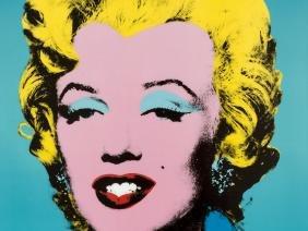 After Andy Warhol, 'Wandbild Andy Warhol