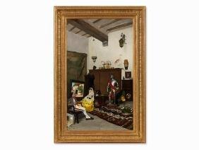 Ricardo de los Rios (1847-1929), The Painter's Studio,
