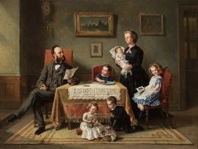 Charles M. Webb / August v. Wille, Family Portrait,