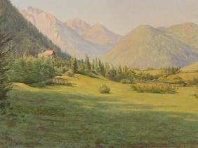 Franz von Matsch (1861-1942), Attributed, Madonna di