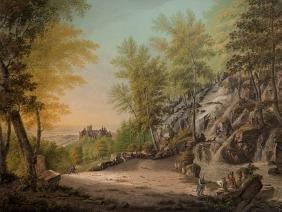 Johann Heinrich Bleuler, Kassel, Lithograph, 1820
