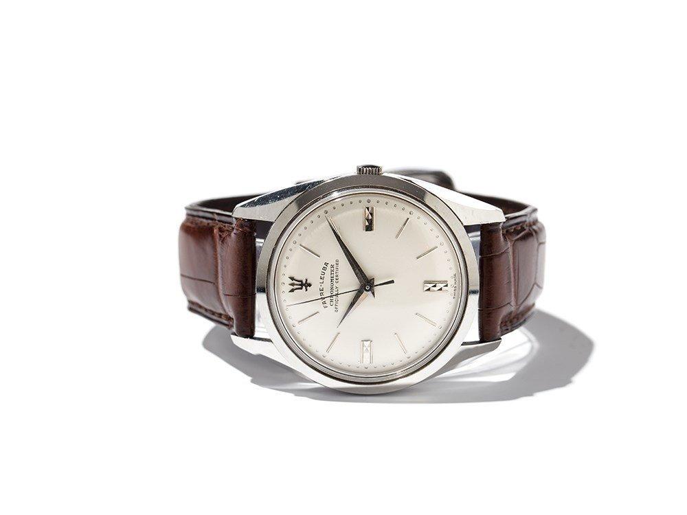 Favre Leuba Chronometer Wristwatch, Switzerland, Around