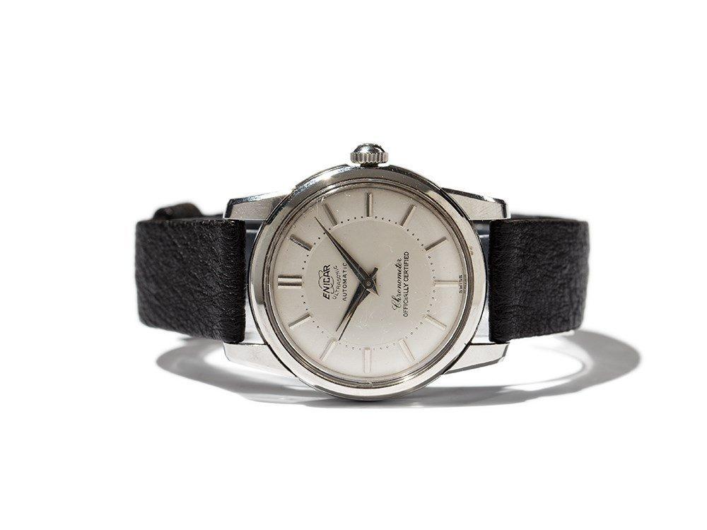Enicar Ultrasonic Chronometer, Switzerland, Around 1952