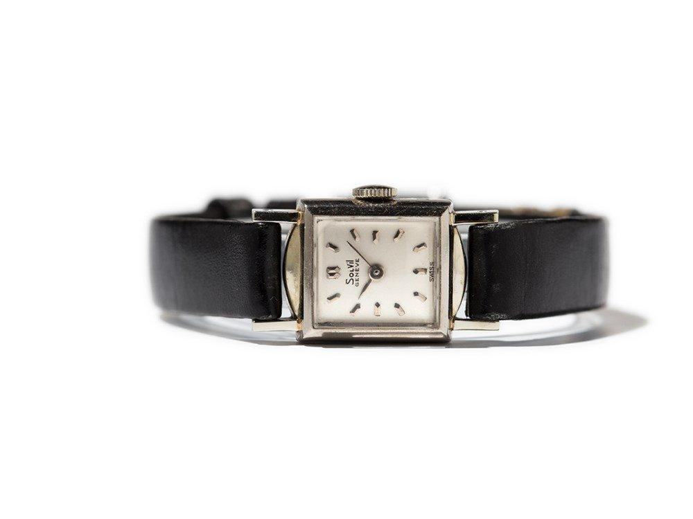 Solvil Wristwatch, Switzerland, Around 1950