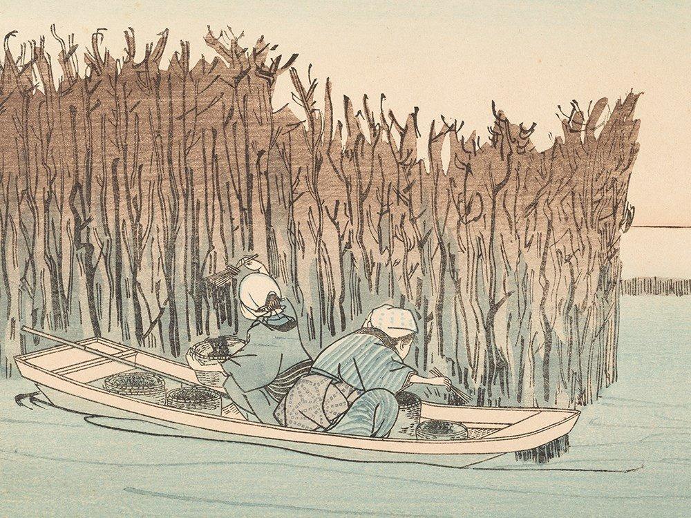 Utagawa Kuniyoshi, Colored Woodblock Print, Japan,