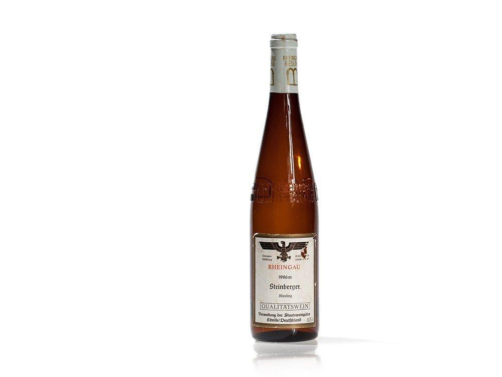 1 bottle 1986 Staatsweingüter Eltville Steinberger