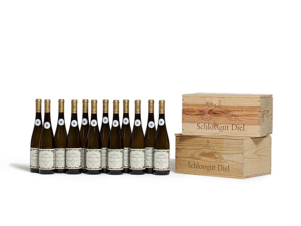 12 bottles of 2005 Schlossgut Diel Riesling Spätlese,
