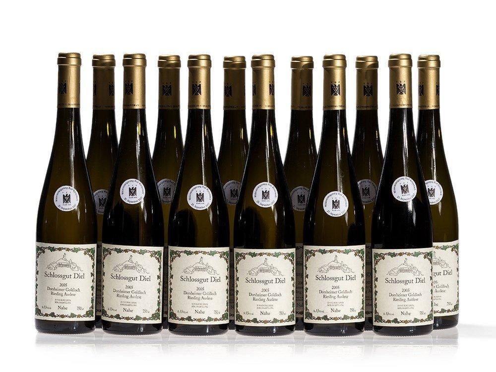 12 bottles of 2005 Schlossgut Diel Riesling Auslese
