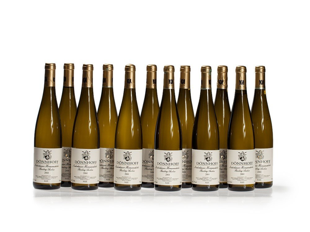 12 bottles of 2004 Dönnhoff Riesling Auslese Goldkapsel
