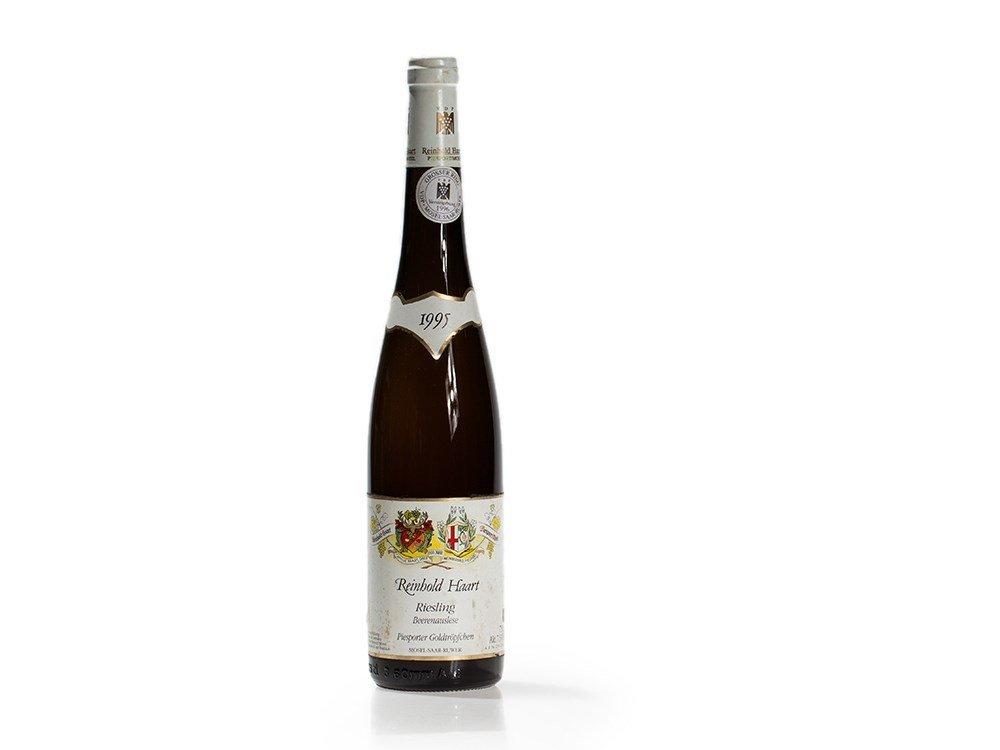 1 bottle of 1995 Haart Goldtröpfchen Riesling