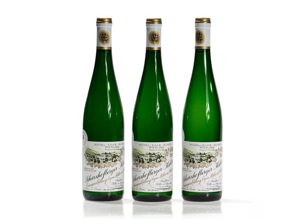 3 bottles 2003 Egon Müller Scharzhofberger Kabinett