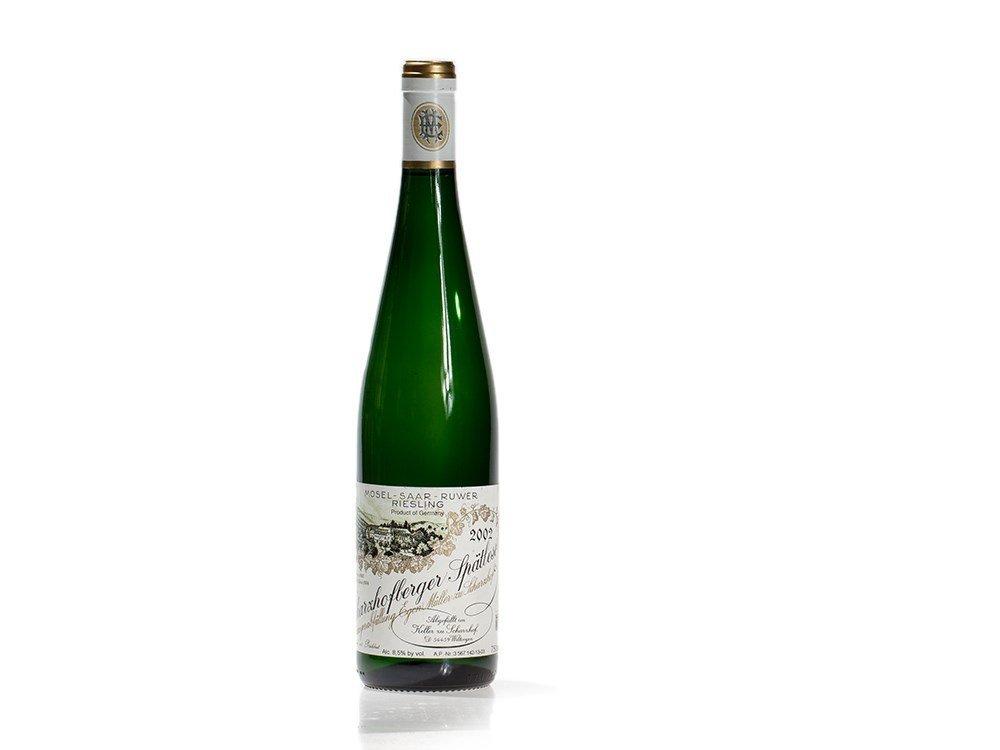 1 bottle of Egon Müller Scharzhofberger Spätlese