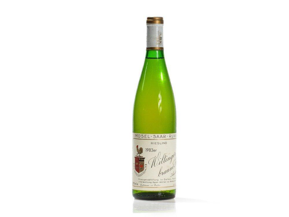 1 bottle 1983 Egon Müller Le Gallais Riesling Auslese,