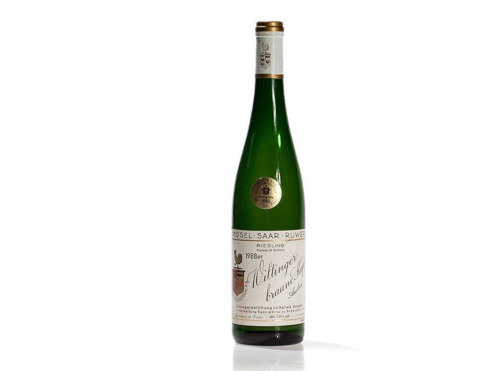 1 bottle 1988 Egon Müller Le Gallais Riesling Auslese,