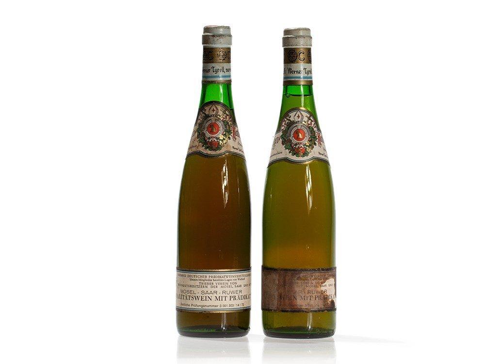 2 bottles 1971 Karthäuserhof Riesling Beerenlese, Mosel