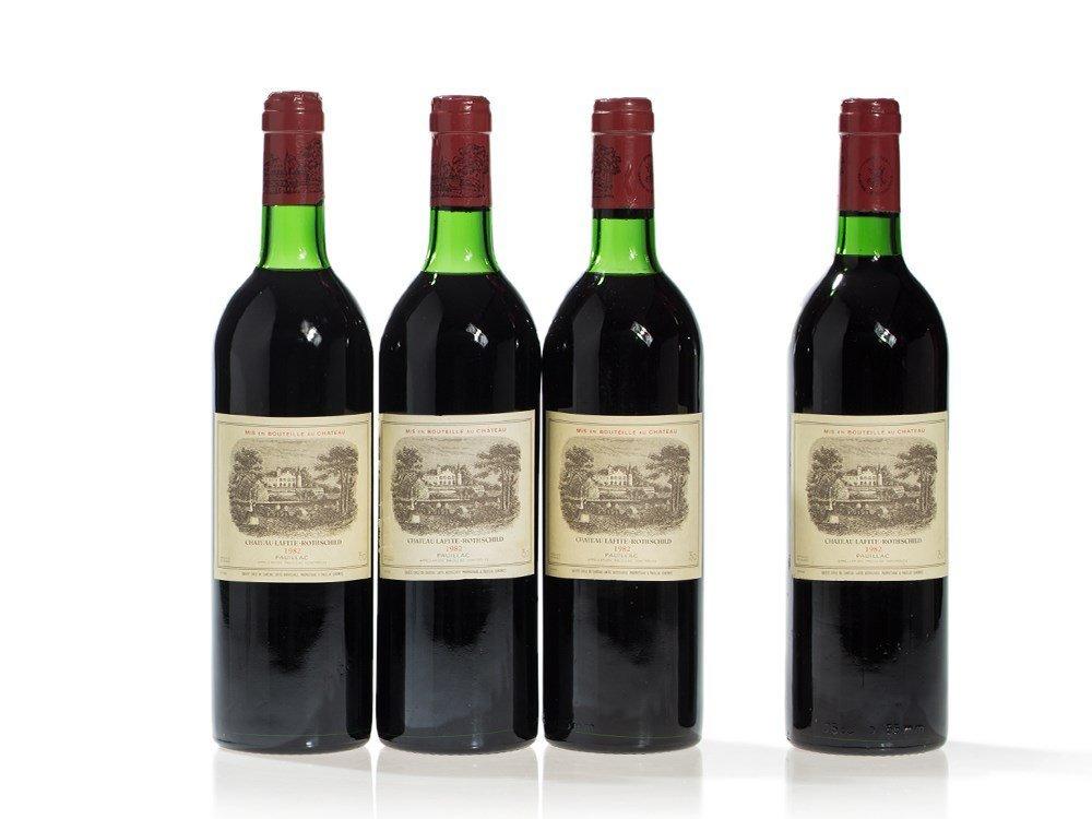 4 bottles 1982 Château Lafite-Rothschild, Pauillac