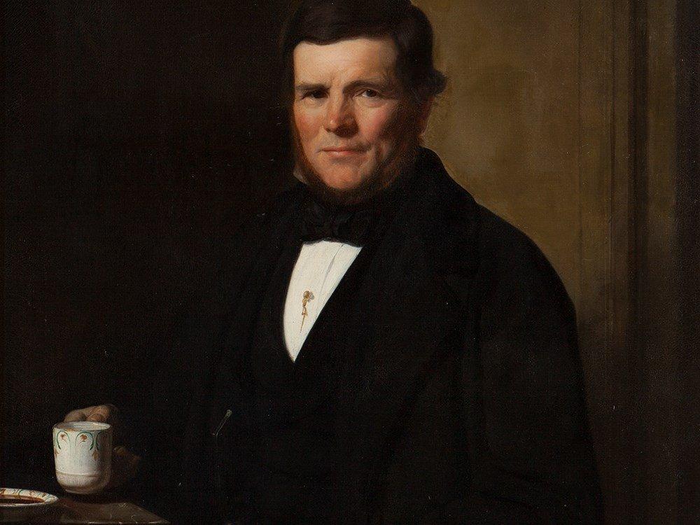 Camille Dolard le Jeune (1810-1884), Gentleman, 1860