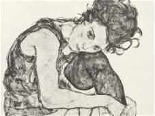 Egon Schiele, Signed Portfolio 'Zeichnungen', 12