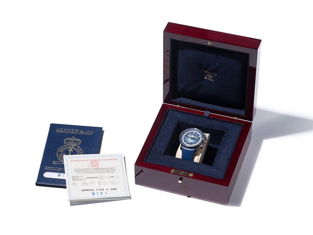 Arnold & Son Longitude II Trafalgar Wristwatch, 2006 - 2