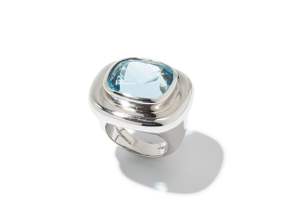 Tiffany & Co. by Paloma Picasso, Aquamarine Ring, 1990s