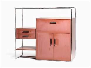Bruno Weil, B290 Combination Cabinet, Thonet