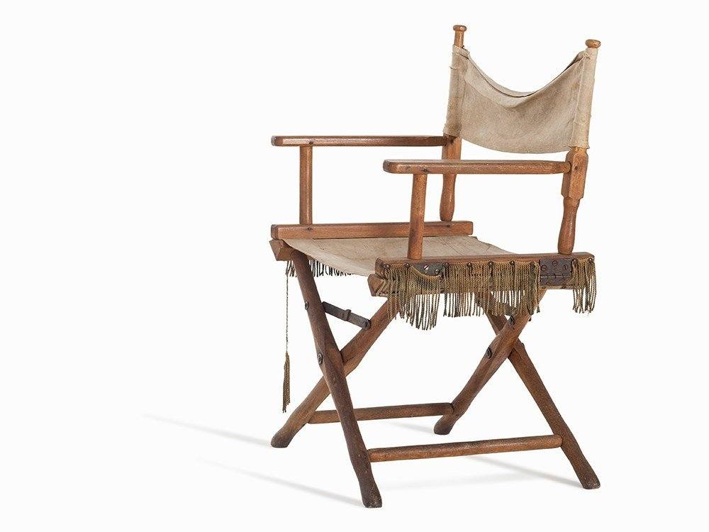 Director Chair of Bertholt Brecht, Germany, 1920's
