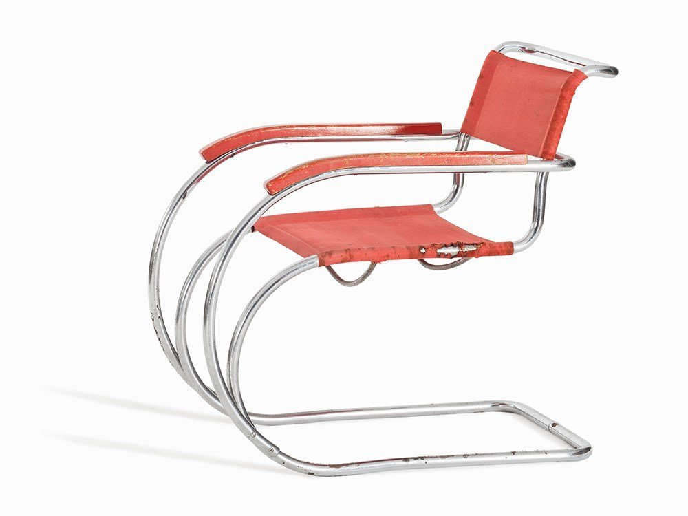 Ludwig Mies van der Rohe, after, Cantilever Chair,