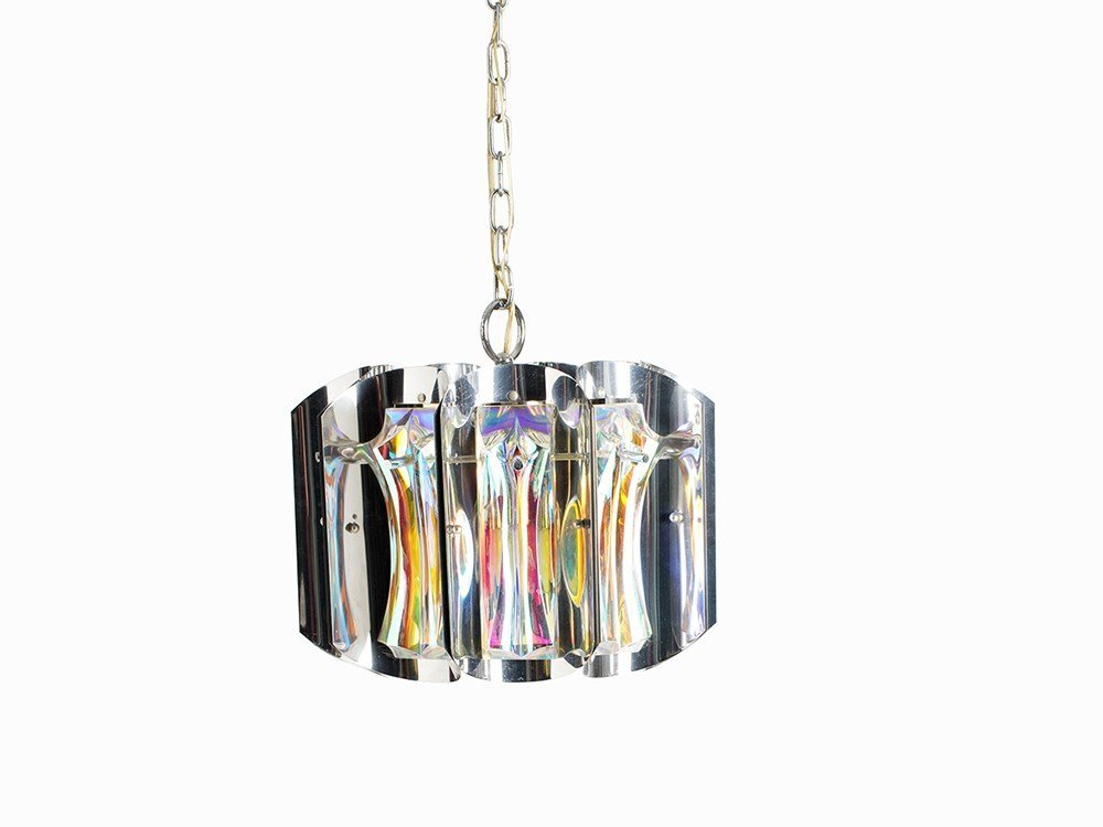 Pendant Lamp with Light Reflexes, presumably Germany,