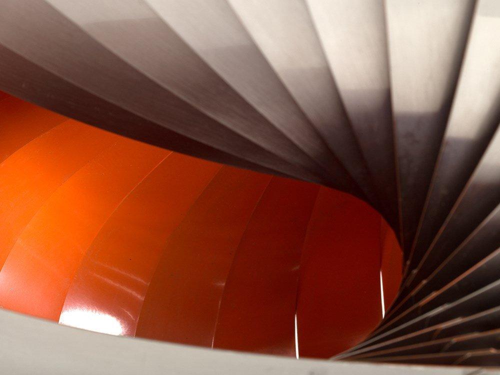 Pendant Lamp in Style of Verner Panton's Moon Lamp, - 6
