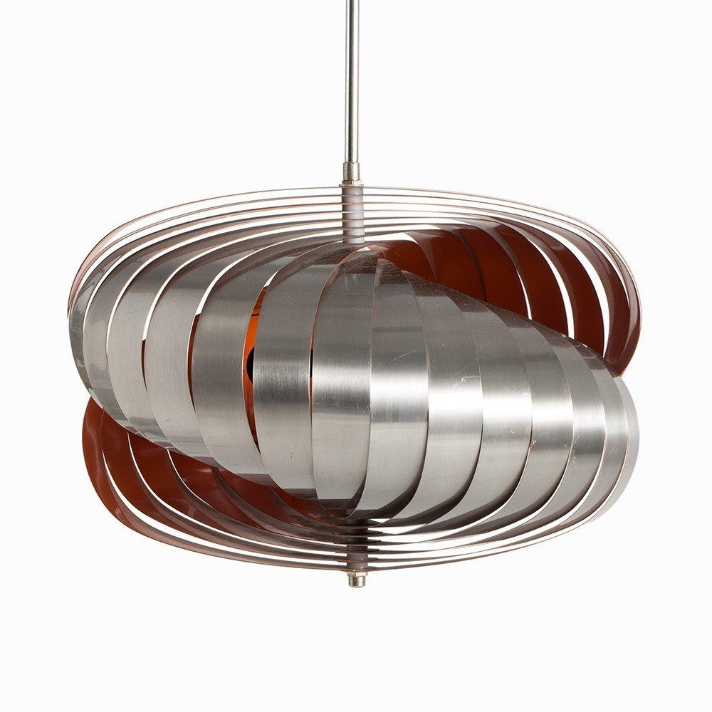 Pendant Lamp in Style of Verner Panton's Moon Lamp, - 9