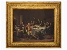 William Hogarth, after, Modern Midnight Conversation,