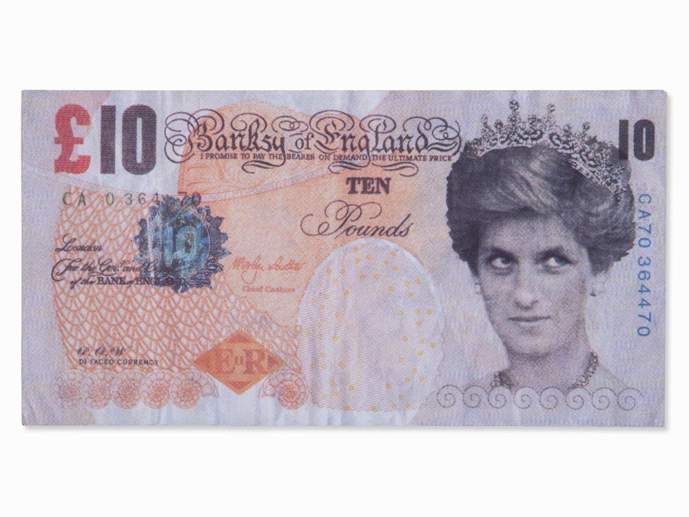 Banksy (b. 1974), Note, Di-Faced Tenner, United
