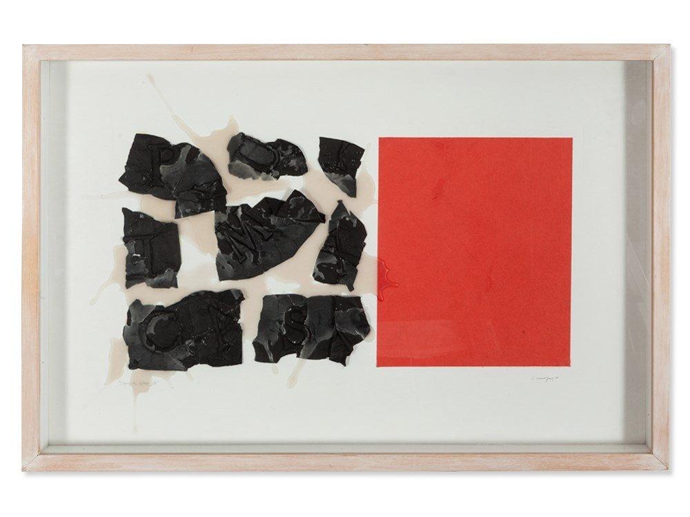 Rafael Canogar (b. 1935), 'Sopa de letras III', Spain,