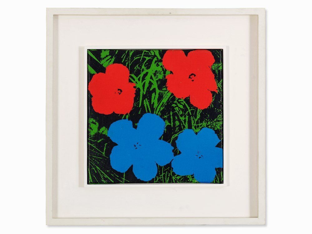 Andy Warhol (1928-1987), Silkscreen on canvas, - 2