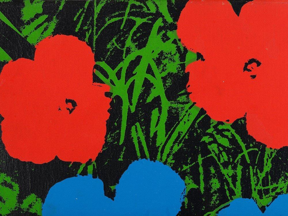 Andy Warhol (1928-1987), Silkscreen on canvas, - 4