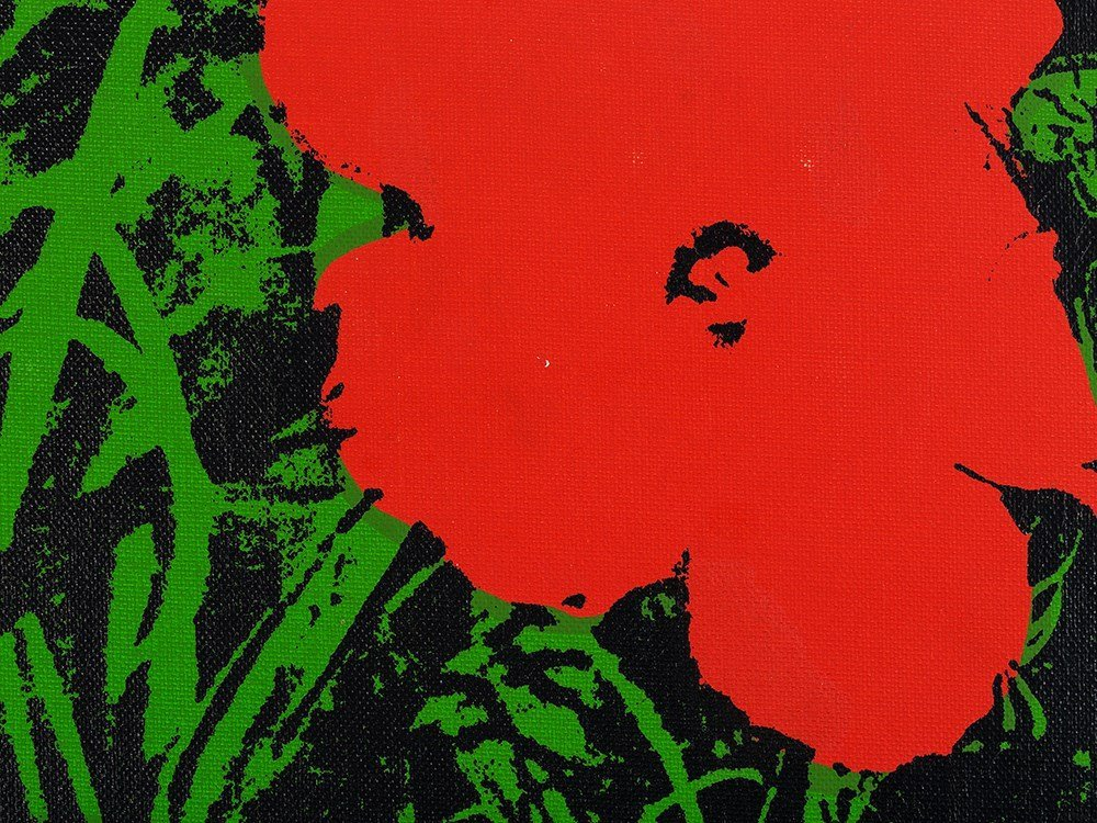 Andy Warhol (1928-1987), Silkscreen on canvas, - 5