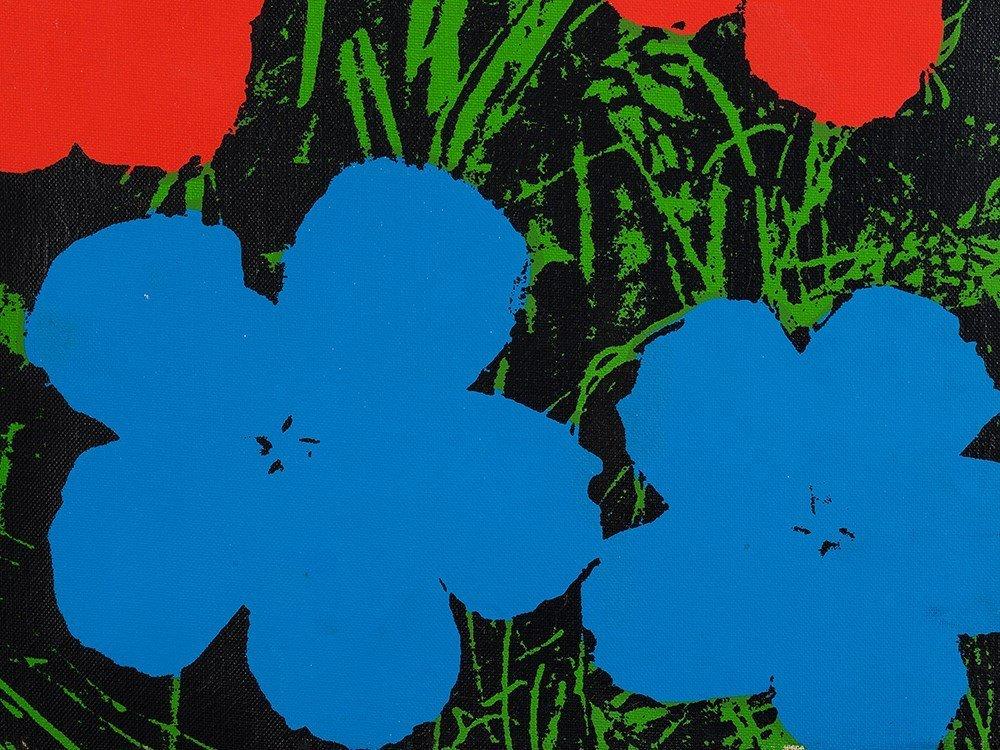 Andy Warhol (1928-1987), Silkscreen on canvas, - 6